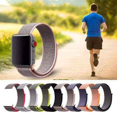 Nylon Uhrenarmband Armband iWatch Armband Sport Armband für Apple Watch 38 42mm