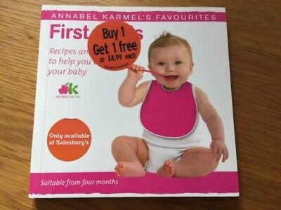 First Foods, Karmel, Annabel, Used; good paperback book