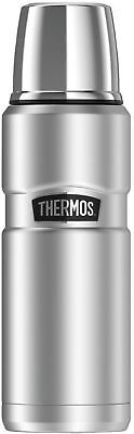 Thermos SK2000STTRI4 Stainless King Vacuum-Insulated Beverage Bottle, 16 Oz,