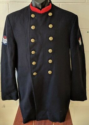 Vintage NSW Fire Brigade 'Lion Tamer' Tunic with Senior Fire Fighter Rank