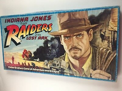 Indiana Jones Raiders Of The Lost Ark Board Game 1982 Parker Brothers