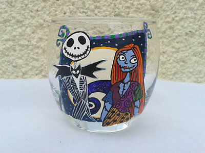 Tim Burton's, The Nightmare Before Christmas, Jack and Sally Inspired Tumbler