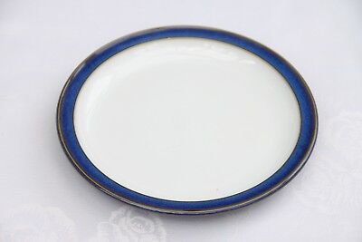 Denby Imperial Blue Tea Plates (Side plates) x THREE D=17.5cm or 6.7 Inches