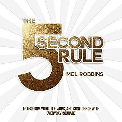 The 5 Second Rule 2017 by Mel Robbins (**EB00KS&AUDI0B00K  EMAILED**)
