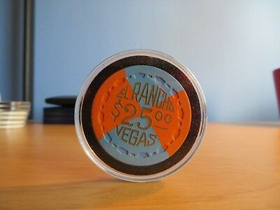 1952 $25 El Ranco Vegas Casino Chip