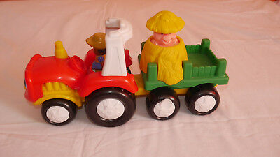 Fisher Price Little People Bauernhof Traktor mit Sound