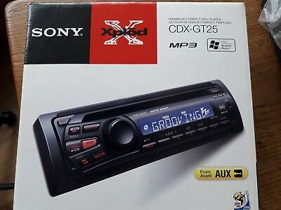 MEX ORIGINAL COLLAR TRIM For SONY Car Stereo FM AM COMPACT DISC PLAYER CDX CXS