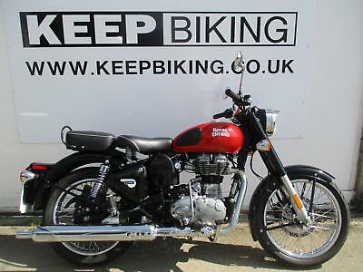 2017 ROYAL ENFIELD BULLET 500ie CLASSIC ABS E4 REDDITCH EDITION. 3815 MILES