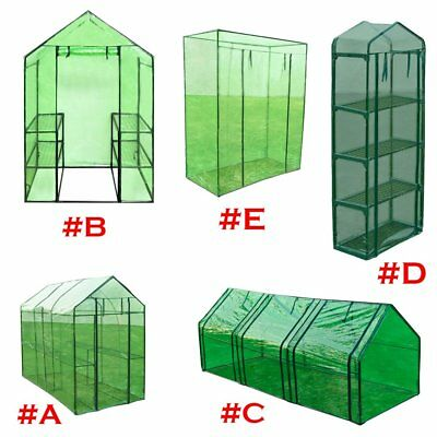 Steel Frame Greenhouse Garden Planting Growth Green House Cover 5 Sizes Outdoor