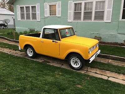 1963 International Harvester Scout White 1963 Scout