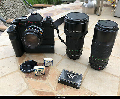 Canon F1 new System