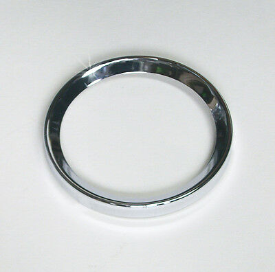 "Smiths / British Jaeger New Chrome Bezel 2¼"" (52mm) for Smiths Gauges, AJH5182"