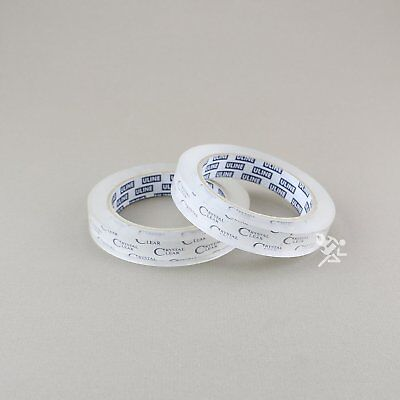 """2 - 3/4"""" x 2,592"""" (72 yds) Crystal Clear Transparent Tape, 3"""" Core, S-3274"""
