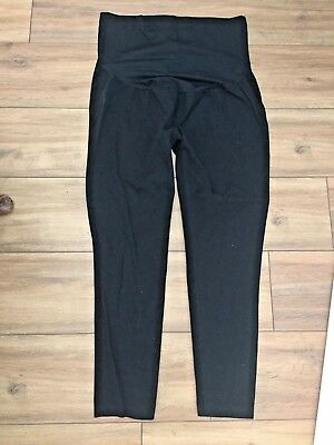 Black Maternity Trousers Over The Bump Size 16