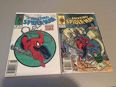 Amazing Spiderman 301-329 Mcfarlane Lot