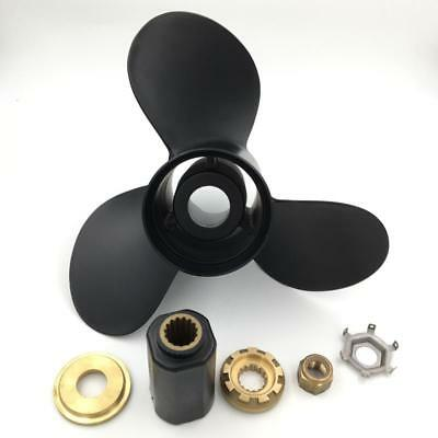 """Boat Aluminum Outboard Propeller 13x19"""" for Mercury 40-140HP 48-77346A45"""