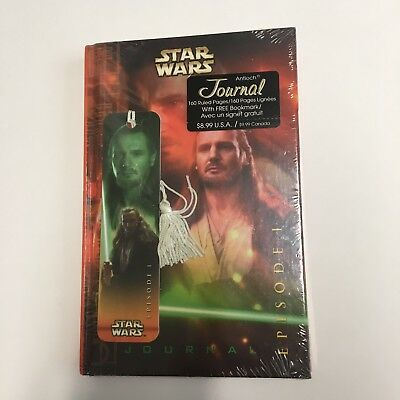 New In Package $8.99 antioch publishing star wars episode I journal