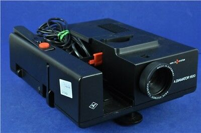 Agfa Diamator 1500 Slide Projector With Remote Untested Good Condition
