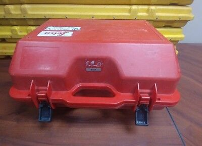 Used RED Hard Carrying CASE for LEICA TS12, TOTAL STATION