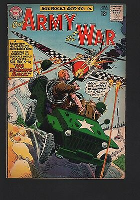 Our Army at War #140 VG 4.0 Cream to Off White Pages 3rd All Sgt Rock Issue