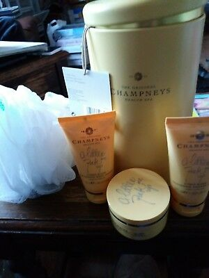 The original Champneys health spa time for a good morning collection gift set