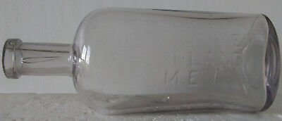 Antique Geo. C. Frye Portland Maine Apothecary Medicine Bottle, Very Heavy