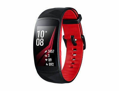 Brand New Samsung Gear Fit 2 Pro Activity Tracker With HR - Red - Large