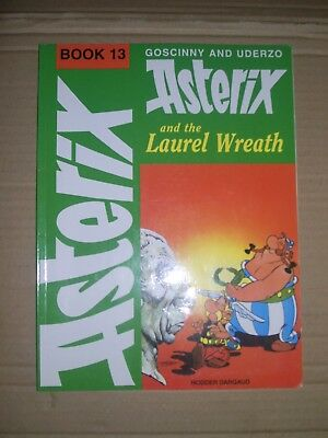 Asterix and the Laurel Wreath softback