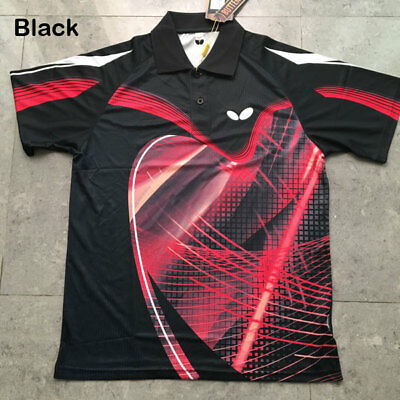 SHIRT; OFFICIAL BUTTERFLY Table Tennis Shirt Size M (sizes run small)