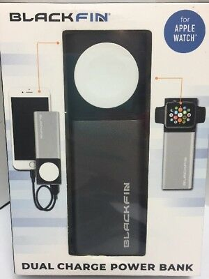 Blackfin Dual Charge Power Bank for Apple Watch New