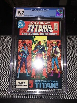 Tales of the Teen Titans #44 CGC 9.2 1st Appearance of Nightwing! D.C. KEY ISSUE