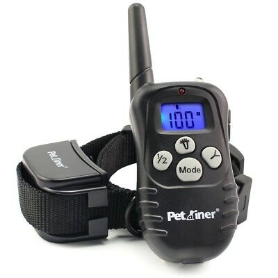 Petrainer Upgraded Version Dog Shock Collar 900 ft Remote Dog Training Collar wi