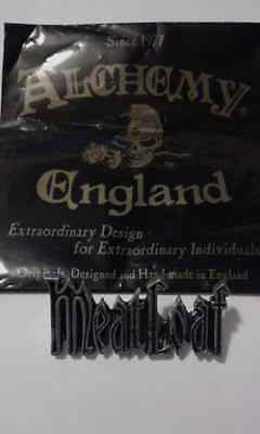 MEAT LOAF - officia vintagel pin badge 1991 - ALCHEMY GOTHIC