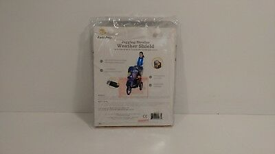 J is for Jeep Jogging Stroller Weather Shield, Baby Rain Cover, Universal Size