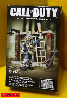 CALL OF DUTY - BRUTUS ZOMBIE - Collector Construction Sets MEGA BLOKS - NEU+OVP