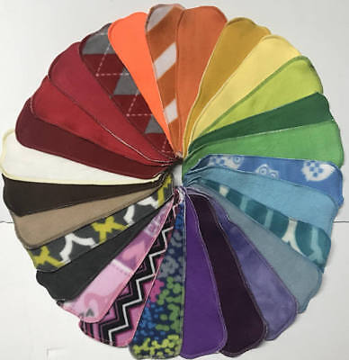 NEW SIZE: MamaBear Quick-Dry cloth menstrual pads - Long n' Lean Wingless Pads