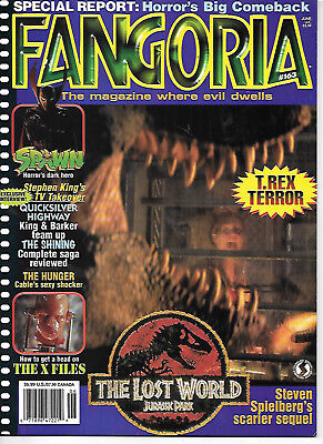 Fangoria #163 (1997, 84 pages, full colour) good as new