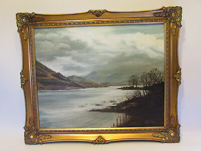 Original Percival James McDonald Dated Oil Painting on canvas in Gold gilt frame