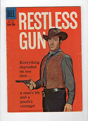 Four Color #1045 - Restless Gun (Nov 1959-Jan 1960, Dell) - Good+