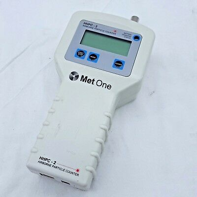 MetOne HHPC-2 Airborne Particle Counter | Powers On | *Untested*