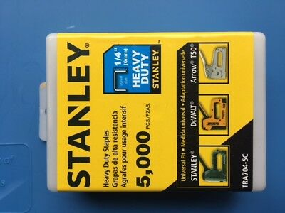Stanley 5000 Ct Staples 1/4 In