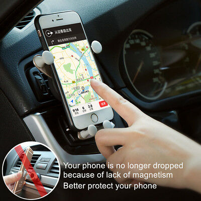 Universal In Car Magnetic 360° Cell Phone Mount GPS Holder Support Grasp Access