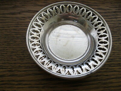 Six Vintage Towle Sterling Silver Pierced Candy Bowl OR Nut Dishes, 165.9g