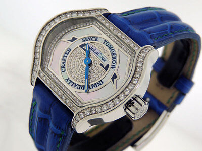 deLaCour City Lady Message II Limited Edition Diamonds 30mm $19,800 LNIB
