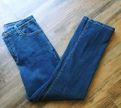NYDJ Not Your Daughters Jeans Lift Tuck Straight Size:12 Jeans Dark Wash EE7