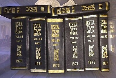 U.S.T.A. Year Book Trotting and Pacing Register 1970 - 1979
