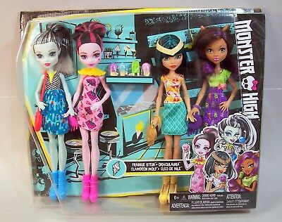 """""""Ice Cream Ghouls"""" Monster High Doll Set--Never Opened"""