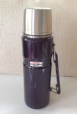 Thermos Stainless Steel Hot/Cold 40 oz. Beverage Bottle Black Model # SK3010AW2