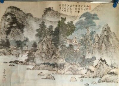 Asian Original Painting (mountain landscape)