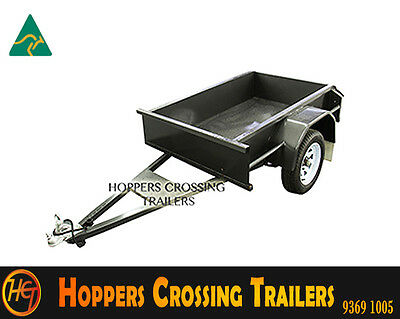 Australian Made 5x3 Heavy Duty Box Trailer
